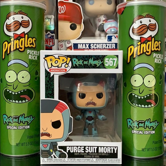 Rick and Morty Funko Pop Figure Morty # 417 Special Edition New